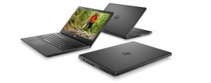 Dell Notebook Inspiron 3567 Win10Home i3-7020U/1TB/4/INT/Black
