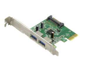 Karta Adapter 2x USB 3.0  PCie