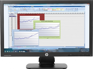 Monitor HP P222VA FHD kl. A- LED